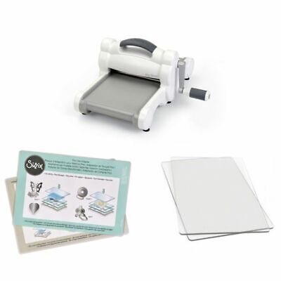 Sizzix Big Shot Only White and Grey Stanzmaschine