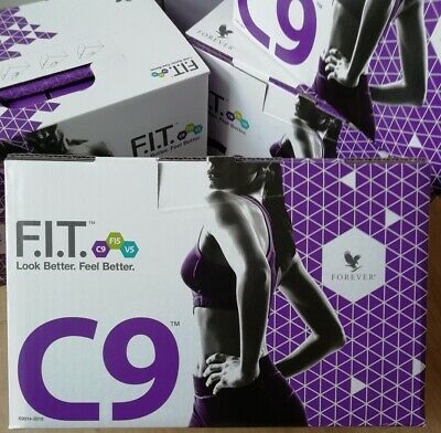 Forever Living C9 Clean 9 Detox Pack Can Combine With Any Flavor Drink or Shake!
