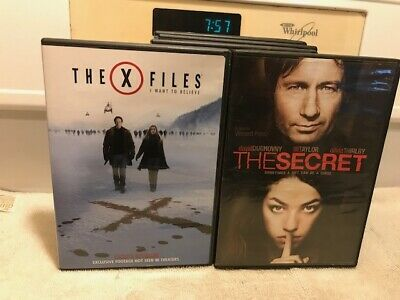 Dvd  The Secret, X-Files, I Want To Believe