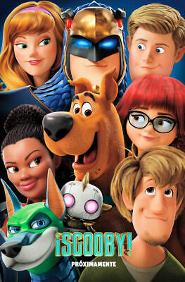 "Scoob! ( 11"" x 17"" ) Movie Collector's Poster Print (T3) - B2G1F"