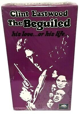 The Beguiled (VHS, 1992) Video Tape Clint Eastwood MCA Universal - New Sealed