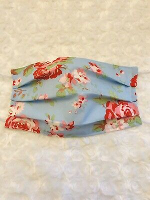 Handmade Fabric Facemask-Triple Layer-Filter Pocket- Cath Kidston
