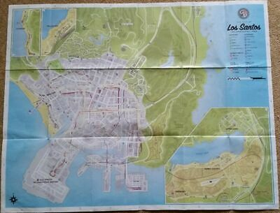 GTA V GRAND THEFT AUTO 5 MAP UK Seller FAST & FREE DELIVERY