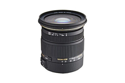 Sigma 17-50mm F2.8 EX DC OS HSM for Canon cropped sensor cameras with EF-S Mount