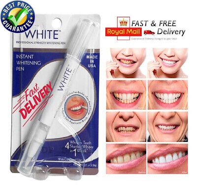 The Real Dazzling Absolute White Pen Tooth Teeth Whitening Gel Dental Cleaning