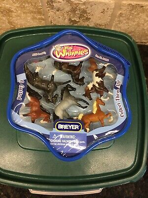 Breyer Mini Whinnies Horses. 6 Gaited. New In Package.