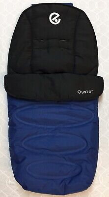 Babystyle Oyster 2 Pushchair Footmuff Cosy Toes - Navy Blue