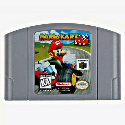 NEW: Mario Kart 64 Video Game for N64 Nintendo 64 Video Game Console