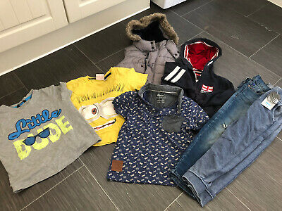 Bundle Of Boys 3-6 Years Clothing #free Post