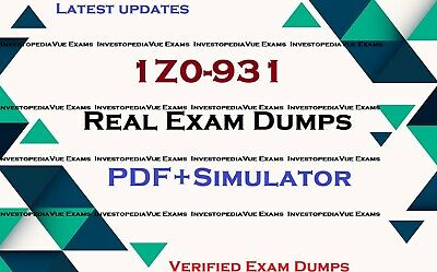 1Z0-931 real exam dumps questions answers & Simulator