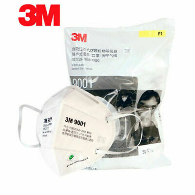 10pcs 3M 9001 KN90 Dust Masks Respirator Anti-dust PM2.5 Protective Face Mask