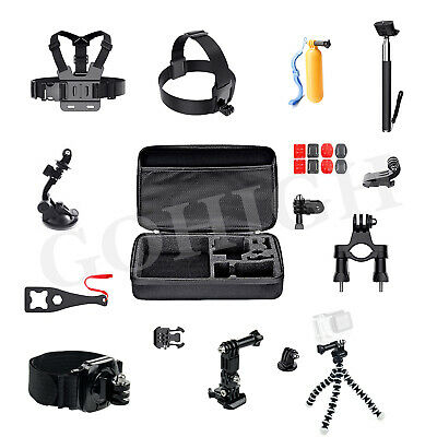 Outdoor Action Camera Accessories Kit for GoPro DJI OSMO Action Yi AKASO