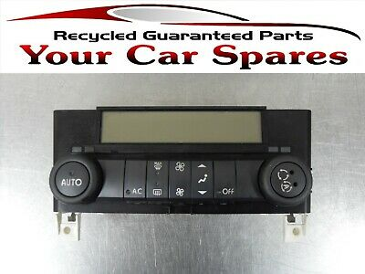 Renault Laguna Heater Controls with Air Conditioning 01-07 Mk2