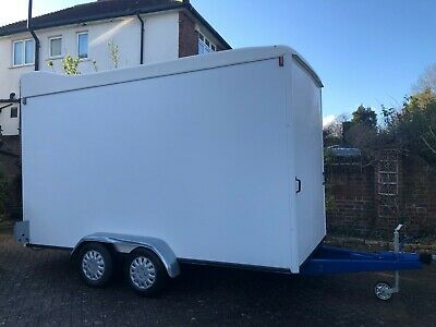 Indespension Tow A Van box trailer TWIN AXLE - Used but in a VERY GOOD CONDITION