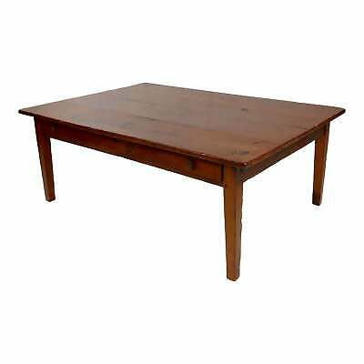 19th century French country Farm Coffee table -Walnut