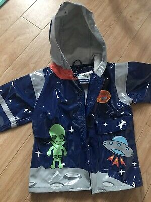 New Unisex Kidorable Kids Space Hero Raincoat And Rocket Age 2 70 /78 BNWT Boys