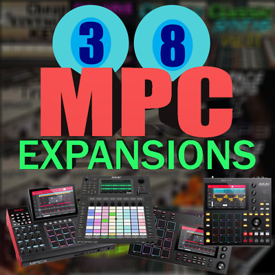 418 instruments Space Pads I /& II Expansions for Akai MPC X Live Force Touch