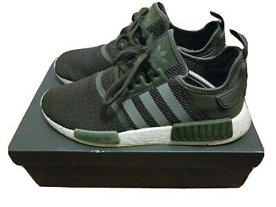 Mens Adidas Nmd R 1 Night Cargo Green Running Shoes Men S Select