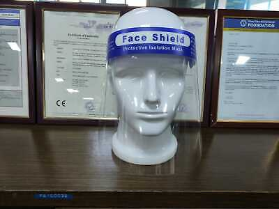 Full Face Visor Protection  Transparent  Safety cover x 1 UK Stock