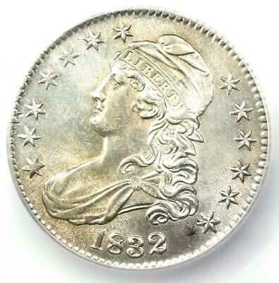1832 Capped Bust Half Dollar 50C - Certified ICG AU58 - Rare Coin - $715 Value!