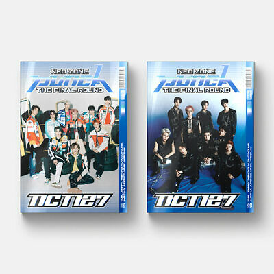 NCT 127 Neo Zone The Final Round (Cover/photocard/circle card/postcard choice)
