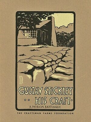 Mission Arts & Crafts Gustav Stickley Furniture Decorative Arts / Book  + Marks