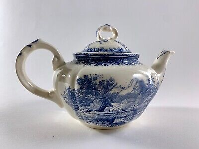 Villeroy & Boch Burgenland Blue One Serving Teapot