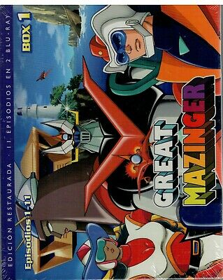 Great Mazinger (2 Bluray Nuevo)