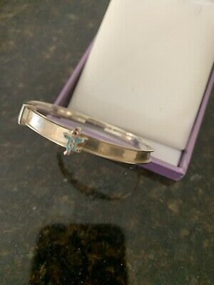 Sterling Silver Expanding Baby Bangle