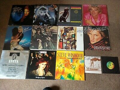 Job lot of 18 LP's and 2 singles. Good condition.