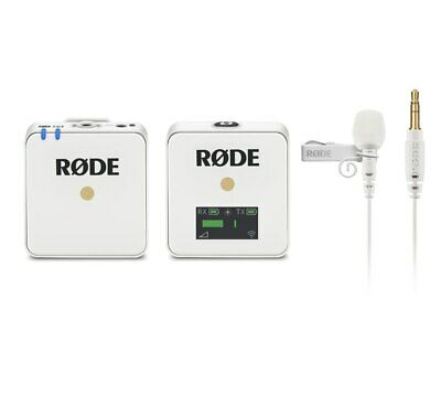 Rode Wireless GO White with Rode Lavalier GO White