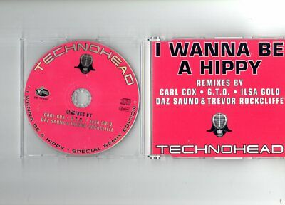 NEUWERTIG: Technohead - I Wanna Be A Hippy (Remixes) - CD HAPPY HARDCORE GABBER