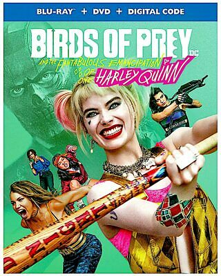 Birds of Prey:and the Fabulous emancipation of Harley Quinn,(Blu-ray+dvd+digital