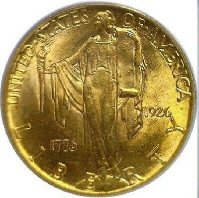 1926 $2 1/2 Gold Sesquicentennial Comm PCGS MS-64