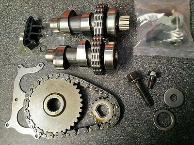 Harley Davidson Twin Cam  Cams & Drive Kit  With New Tensioners