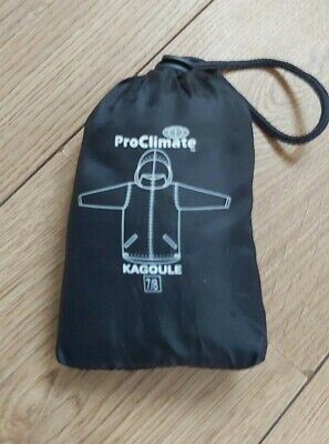 Proclimate Kagoule   Black Age 7-8 years