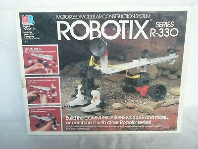 Robotix R-330 Milton Bradley 1986 #4641 Complete With Box & Instructions