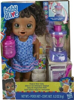 Baby Alive Magical Mixer Baby Doll Blueberry Blast