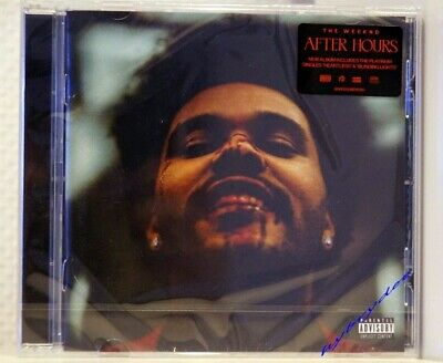 nouvel album Cd THE WEEKND After Hours neuf 04/2020 heartless blinding lights