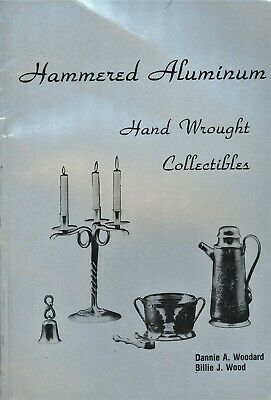 Hammered Hand Wrought Aluminum Collectible - Makers Hallmarks / Scarce Book