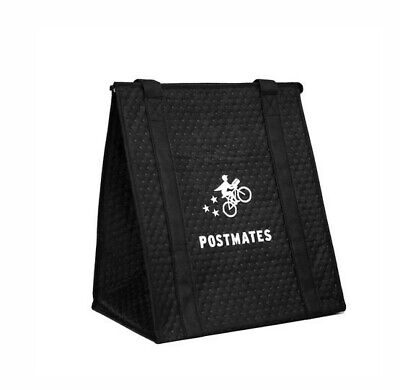 Postmates Official Insulated Food Delivery Bag The Hot/Cold Bag