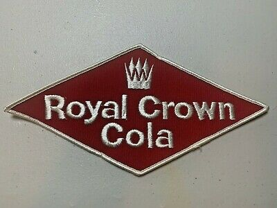 Vintage Embroidered RC  Royal Crown Cola Patch NOS (1940's)