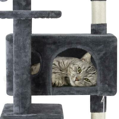 Cat Tree Condo House Scratching Post Tower Play Furniture Toy Bed Pet Kitty Home