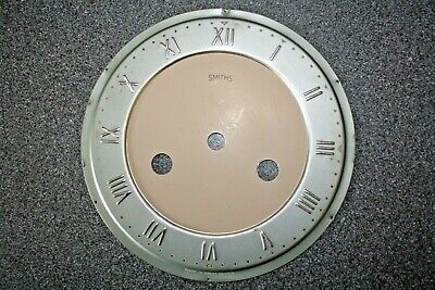"Vintage Smiths striking mantel clock 6"" dial/face/ for spares/parts"