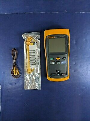 Excellent Fluke 51 II 51-2 Thermocouple Thermometer Screen Protector More