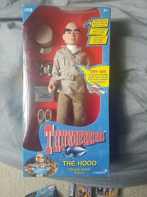 Thunderbirds The Hood Talking Action Figure Carlton VIVID Takara Vintage Rare