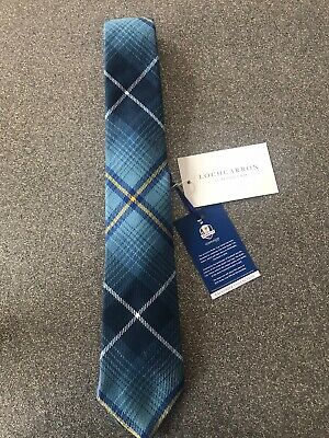 Ryder Cup Gleneagles 2014 Official Lochcarron Tie - Mens - New