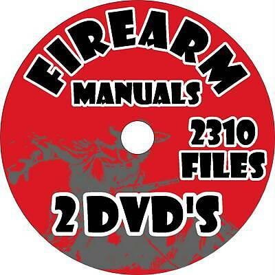 Firearm Manuals Collection - 2310 Issues on DVD