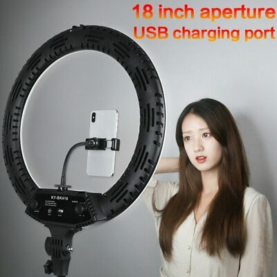 Ring Light 18 inch 65W 3200-5600K Photography Dimmable Selfie LED Ring Lamp 416