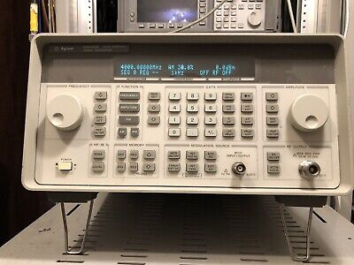 Agilent HP Signal Generator 9KHz-4GHz 8648D with Calibration if requested